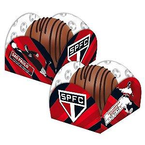 Porta Forminha para Doces Festa São Paulo - 40 unidades - Festcolor - Rizzo Festas