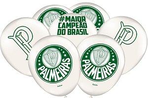 Balão Festa Palmeiras - 25 unidades - Festcolor Festas - Rizzo Embalagens