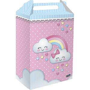Caixa Surpresa Festa Chuva de Amor - 8 unidades - Festcolor - Rizzo Festas