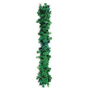 Festão Verde 270cm - 01 unidade - Cromus Natal - Rizzo Embalagens