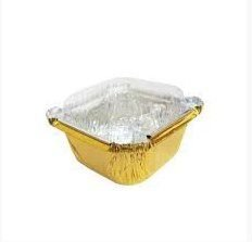 Mini Marmitinha Tampa Dourada - 12 unidades - Artlille - Rizzo Embalagens