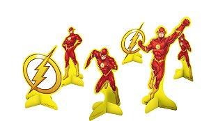 Decoração de Mesa Festa Flash - 8 unidades - Festcolor - Rizzo Festas