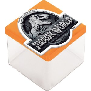 Aplique 3D Festa Jurassic World - 12 unidades - Festcolor - Rizzo Embalagens e Festas