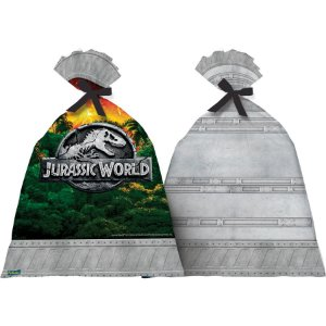 Sacolinha Surpresa Festa Jurassic World - 08 unidades - Festcolor - Rizzo Festas