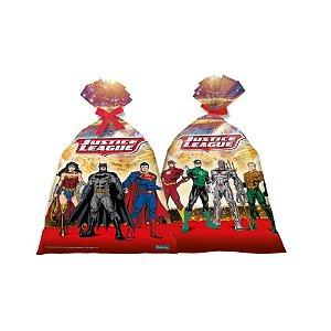 Sacolinha Surpresa Festa Liga da Justiça - 08 unidades - Festcolor - Rizzo Festas