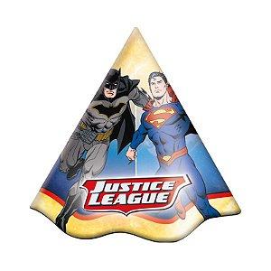 Chapéu Festa Liga da Justiça - 08 Unidades - Festcolor - Rizzo Embalagens