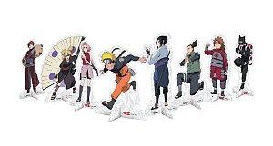 Decoração de Mesa Festa Naruto- 8 unidades - Festcolor - Rizzo Festas