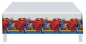 Toalha De Mesa Festa Superman - 01 unidade - Festcolor - Rizzo Festas