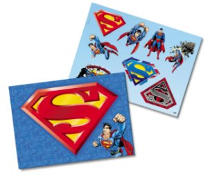 Kit Decorativo Festa Festa Superman - Festcolor - Rizzo Festas