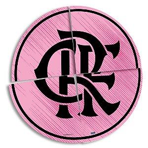 Painel Decorativo Festa Festa Flamengo Rosa - Festcolor - Rizzo Festas