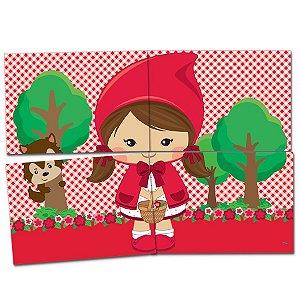 Painel Decorativo Festa Festa Chapeuzinho Vermelho - Festcolor - Rizzo Festas