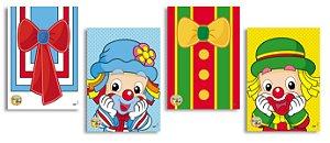 Painel Decorativo Festa Festa Parque Patati Patata - Festcolor - Rizzo Festas