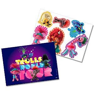 Kit Decorativo Festa Festa Trolls - Festcolor - Rizzo Festas