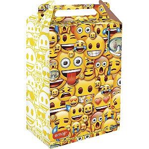 Caixa Surpresa Festa Emoji - 8 unidades - Festcolor - Rizzo Embalagens