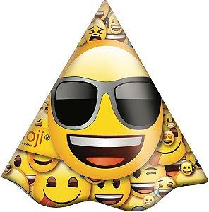 Chapéu Festa Emoji - 08 Unidades - Festcolor - Rizzo Embalagens