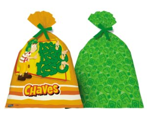 Sacola Surpresa Festa Chaves - 8 unidades - Festcolor - Rizzo Festas