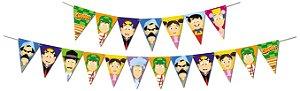 Faixa Decorativa Festa Chaves - 01 unidade - Festcolor - Rizzo Festas