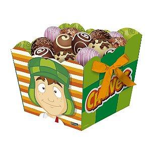 Cachepot Festa Chaves- 8 unidades - Festcolor - Rizzo Festas