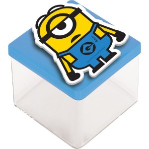 Aplique 3D Festa Minions - 12 unidades - Festcolor - Rizzo Embalagens e Festas