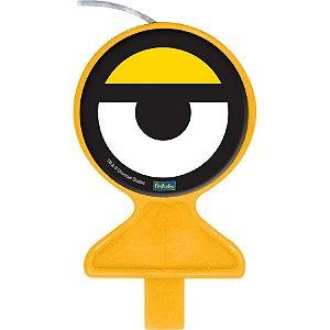 Vela Festa Minions - 1 unidade - Festcolor - Rizzo Embalagens e Festas