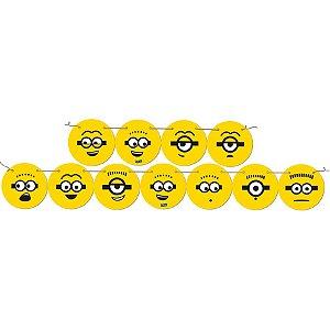 Faixa Decorativa Festa Minions - 01 unidade - Festcolor - Rizzo Festas