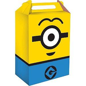 Caixa Surpresa Festa Minions  - 8 unidades - Festcolor - Rizzo Embalagens