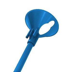 Kit Suporte para Balão 33cm - Azul Escuro - 10 Unidades - Rizzo Embalagens