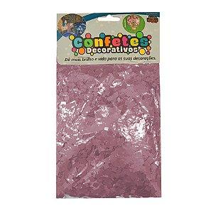 Confete Mini Picadinho 25g - Rosa Claro Dupla Face - Rizzo Embalagens