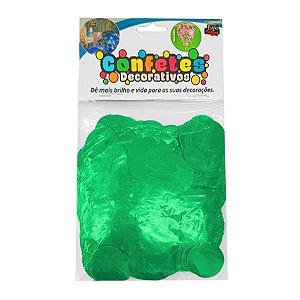 Confete Redondo Metalizado 25g - Tiffany Dupla Face - Rizzo Embalagens