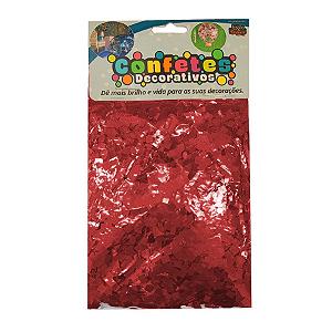 Confete Mini Picadinho Metalizado 25g - Marsala Dupla Face - Rizzo Embalagens