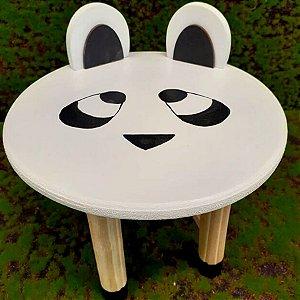Decoração MDF Banco com Orelhas Panda - 01 unidade - Mara Móveis - Rizzo