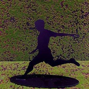 Decoração MDF Jogador de Futebol  - 01 unidade - Mara Móveis - Rizzo