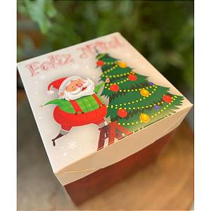 Caixa Cenário Decoração de Natal Ref.1943 - 02 unidades - Erika Melkot Rizzo Embalagens
