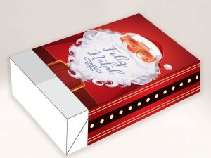 Caixa Divertida Feliz Natal 6 doces - 10 unidades - Erika Melkot - Rizzo Embalagens