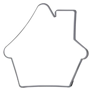 Cortador Casinha de Natal 1G Ref. 133 RR Cortadores Rizzo Embalagens