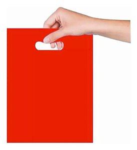 Sacola Boca de Palhaço 16x20cm - Vermelha - 25 unidades - Magnatech