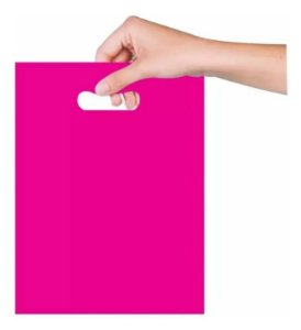Sacola Boca de Palhaço 40x50cm - Pink - 25 unidades - Magnatech