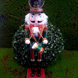 Boneco Soldado Quebra Nozes de Madeira EN031-36 - 37cm - 1 unidade - Global Master - Rizzo