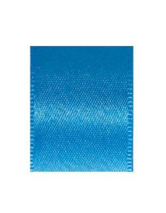 Fita de Cetim Progresso 15mm nº3 - 10m Cor 1390 Azul Medio - 01 unidade - Rizzo Embalagens