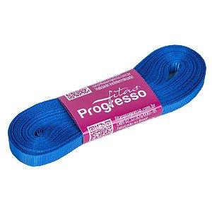 Fita Gorgurão Progresso 7mm nº1 - 10m Cor 214 Azul Royal - 01 unidade - Rizzo Embalagens