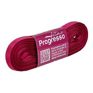 Fita Gorgurão Progresso 7mm nº1 - 10m Cor 303 Pink - 01 unidade - Rizzo Embalagens