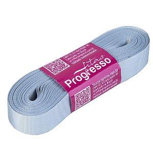 Fita Gorgurão Progresso 15mm nº3 - 10m Cor 084 Prata - 01 unidade - Rizzo Embalagens