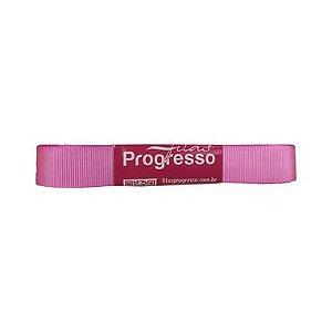 Fita Gorgurão Progresso 15mm nº3 - 10m Cor 1364 Rosa Chiclete - 01 unidade