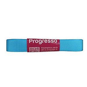 Fita Gorgurão Progresso 15mm nº3 - 10m Cor 1390 Azul Medio - 01 unidade