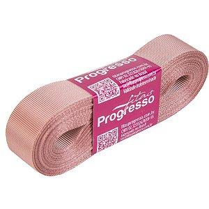 Fita Gorgurão Progresso 22mm nº5 - 10m Cor 1143 Rosa Velho - 01 unidade - Rizzo Embalagens