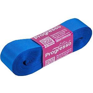 Fita Gorgurão Progresso 22mm nº5 - 10m Cor 214 Azul Royal - 01 unidade - Rizzo Embalagens