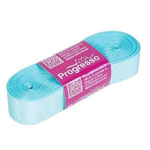Fita Gorgurão Progresso 22mm nº5 - 10m Cor 247 Azul Tiffany - 01 unidade - Rizzo Embalagens