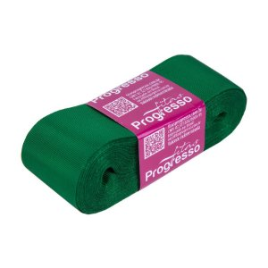 Fita Gorgurão Progresso 38mm nº9 - 10m Cor 217 Verde Bandeira - 01 unidade - Rizzo Embalagens
