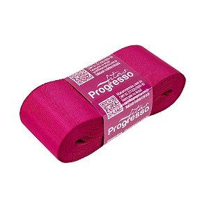 Fita Gorgurão Progresso 38mm nº9 - 10m Cor 303 Pink - 01 unidade - Rizzo Embalagens