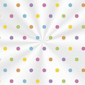 Saco Decorado Colors - 15x22cm - 100 unidades - Cromus - Rizzo Embalagens